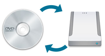 how to copy dvd to hard drive and play it